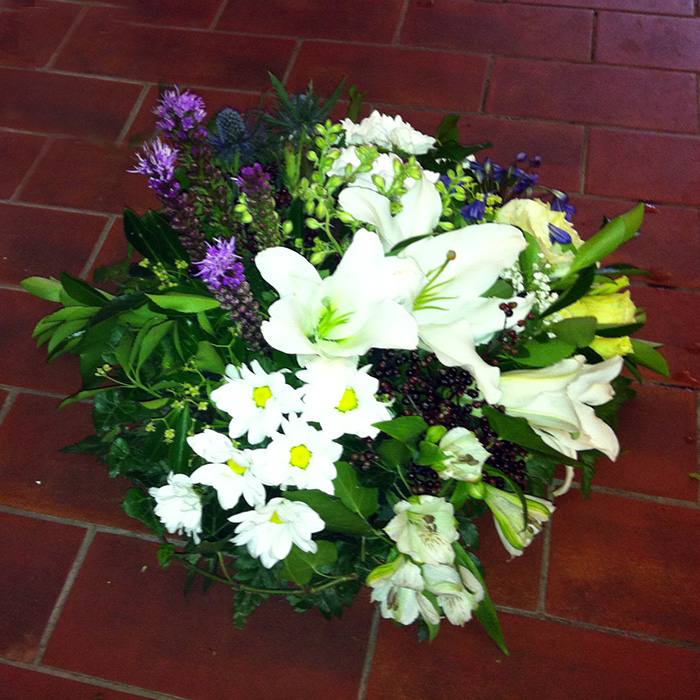Modern Sectioned Posy