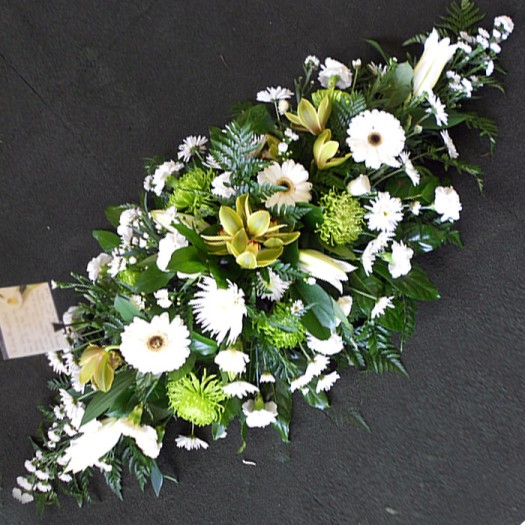 4ft Classic Green & White Double Ended
