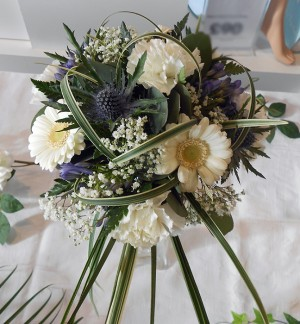 Thistle & Germini Brides Bouquet