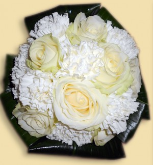 Rose & Carnation Brides Bouquet