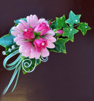 Extra Special Rose & Germini Corsage