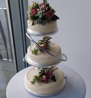 3 tier Cake Decoration