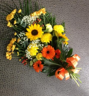 Orange and Yellow Tied Sheaf