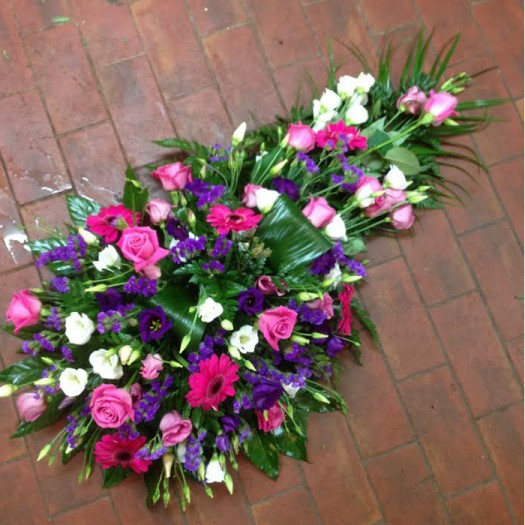 2ft 6 Pink and Purple Single Ended